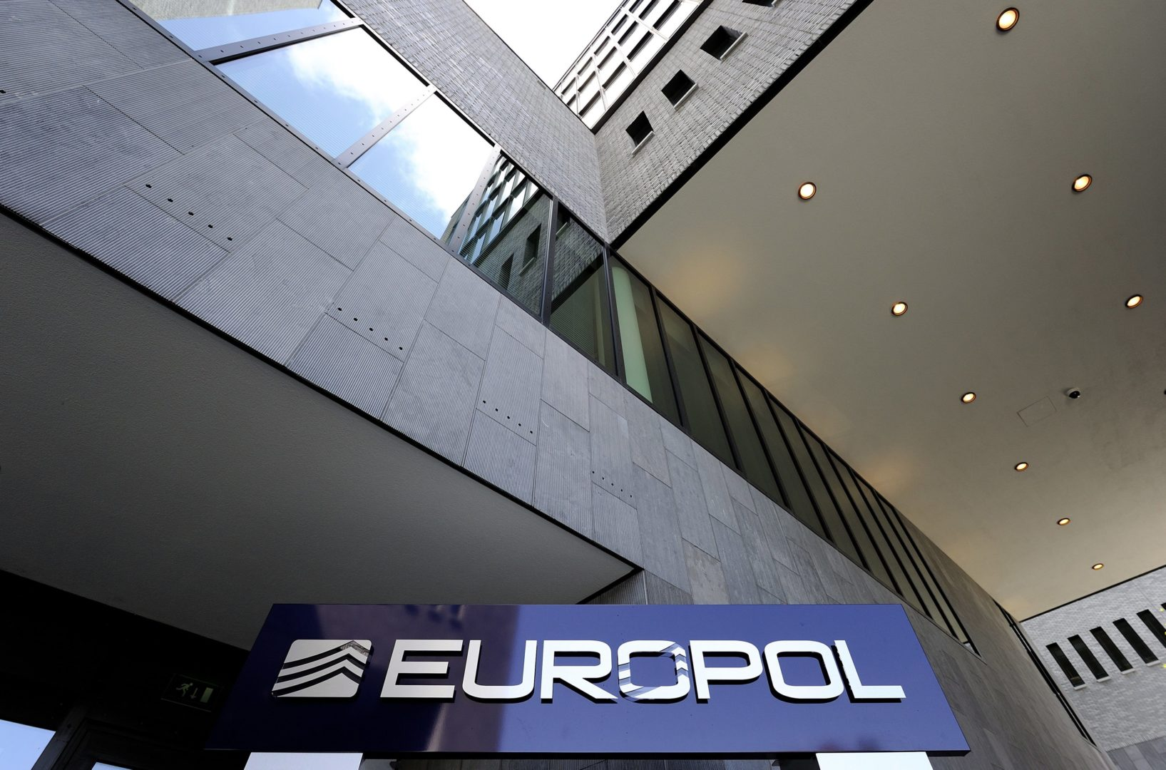 epa02804675 An exterior view of the new Europol headquarters, the alliance of the European Union police and a multinational research organization, in The Hague, The Netherlands 01 July 2011. The headquarters were officially opened 01 July.  EPA/Lex van Lieshout